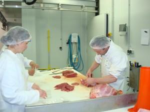 Decoupe de la viande